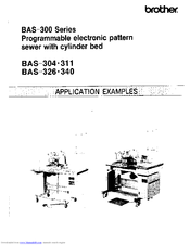 Brother BAS-311 Application Manual