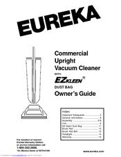 eureka c2132b home care commercial upright vacuum manuals rh manualslib com Eureka Upright Vacuum Parts Eureka Vacuum Company