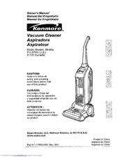 kenmore 3700 bagless upright vacuum manuals rh manualslib com kenmore progressive upright vacuum model 116 owners manual Kenmore Progressive HEPA Vacuum Bags