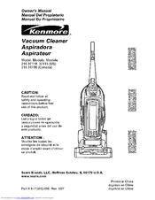 kenmore 3711 java lava upright vacuum manuals rh manualslib com kenmore 10135 progressive bagless upright vacuum cleaner manual kenmore 31069 progressive upright vacuum manual