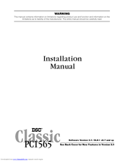 dsc classic pc1565 instruction manual
