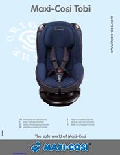 maxi cosi tobi instructions for use manual pdf download rh manualslib com Maxi-Cosi Tobi Cover maxi cosi tobi car seat user manual