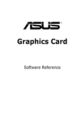 Asus EAX1900 Software Reference Manual