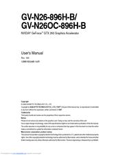 gigabyte nvidia geforce gtx 260 manuals rh manualslib com Corvette Owners Manual Repair Manuals