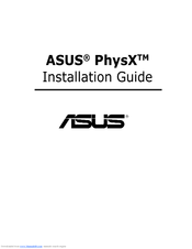 Asus PhysX P1 Installation Manual