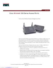 Cisco Aironet AIR-AP352E2C Manuals