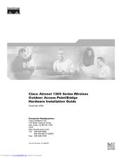 CISCO AIR-BR1310G-A-K9 - AIRONET 1310 OUTDOOR ACCESS POINT