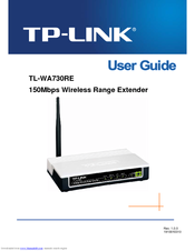 TP-Link TL-WA730RE User Manual