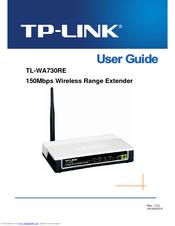 TP-Link TL-WA730RE User Manual