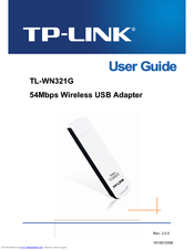 DRIVER UPDATE: TL-WN322G WIRELESS USB ADAPTER