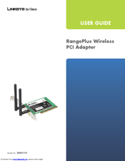 Cisco WMP110 RangePlus User Manual