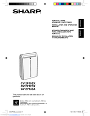 sharp cv10ctxb manual