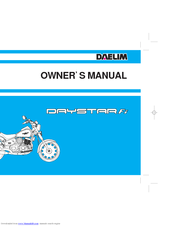 daelim daystar fi vl 125 catalog manuals rh manualslib com Kawasaki Motorcycle Wiring Diagrams Honda Motorcycle Headlight Wiring Diagram