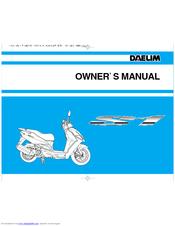 Manual mecanico daelim s1 125   throttle   fuel injection.