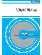 Daelim s five scooter service repair pdf manual download 2001-2009.