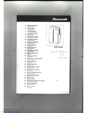 Air conditioning unit: duracraft air conditioning unit.