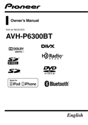 pioneer 6300bt wiring diagram color pioneer avh p6300bt owner s manual pdf download  pioneer avh p6300bt owner s manual pdf