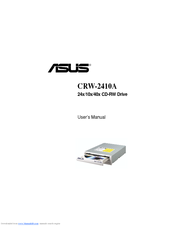 Asus CRW-2410A Drivers PC