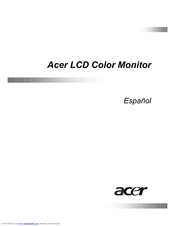 Acer FP553 Manual De Usuario