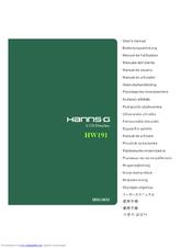 Hanns. G hw-191d user manual pdf download.