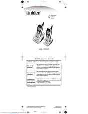 uniden dxi8560 2 dxi cordless phone manuals rh manualslib com