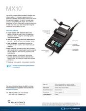 Plantronics vista m22 headset manual