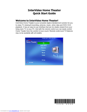 HP Pavilion w1100 - Desktop PC Quick Start Manual