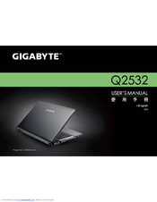 GIGABYTE Q2532P TOUCHPAD WINDOWS DRIVER DOWNLOAD