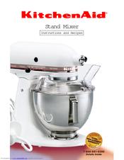 kitchenaid ksm5 instructions and recipes manual 86 pages