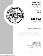 acr electronics sr 103 manuals rh manualslib com ACR Electronics Inc FT Lauderdale FL ACR Electronics AquaLink