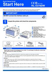 brother hl 21 printer manual