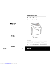 haier dryer diagram electrical drawing wiring diagram \u2022 fisher paykel dryer wiring diagram haier gde700aw genesis 6 cu ft electric dryer manuals rh manualslib com haier dryer diagram haier dryer repair