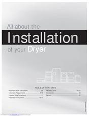 frigidaire affinity faqe7011lw manuals frigidaire affinity faqe7011lw installation manual