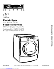 Kenmore HE3 Use And Care Manual