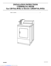 Whirlpool CEM2940TQ Installation Instructions Manual