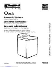 kenmore 110 28032701 manuals rh manualslib com kenmore front load washer instruction manual kenmore front load washer instruction manual