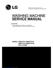 lg wm2277hb manuals rh manualslib com LG Washer Parts Diagram LG Stackable Front Load Washers