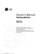 lg wm2277hw manuals rh manualslib com LG WM0642HW Parts LG Tromm Washer WM2277HW