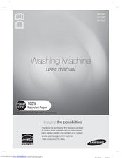 Samsung WF365BTBGWR/A1 User Manual