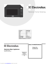 electrolux microwave oven user manual