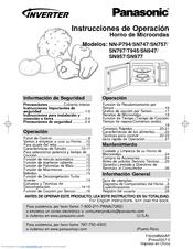 Panasonic NN-T945 Manuals on