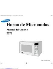 Samsung SMH4150WD Manual Del Usuario