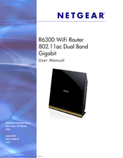 netgear r6300 user manual pdf download rh manualslib com netgear d6300 ac1600 user manual netgear n600 user manual pdf