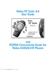 nokia pc suite 4 6 manuals rh manualslib com Nokia PC Suite Windows 8 Nokia USA PC Suite