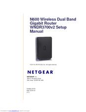 netgear wndr3700v2 n600 wireless dual band gigabit router setup rh manualslib com netgear n600 wndr3700v3 firmware Netgear N600 Wireless Router Troubleshooting