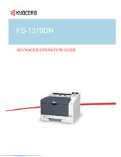 kyocera fs1370dn manual