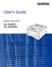brother hl 5450dn manuals rh manualslib com Brother HL 5370DW User Manual brother hl-5470dw manual feed