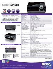 benq ms510 manuals rh manualslib com