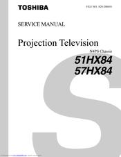 toshiba 57hx84 service manual pdf download rh manualslib com Toshiba TV Service Manual Toshiba Satellite Service Manual