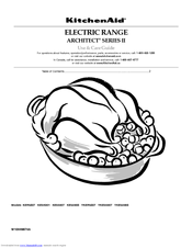 KitchenAid KESS907SWW - on 30 Inch Slide-In Electric Range Use And Care Manual
